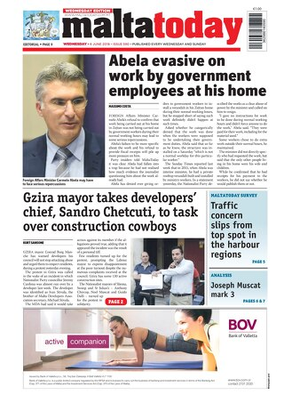 MALTATODAY WED 6 JUNE 2018