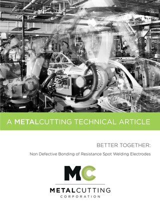Better Together: Non Defective Bonding of Resistance Spot Welding Electrodes