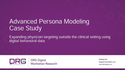 Expanding physician targeting outside the clinical setting