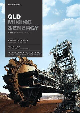 QLD Mining and Energy Bulletin Summer 2012-2013
