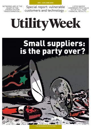 Utility Week 8th June 2018