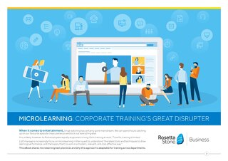 Microlearning: Corporate Training's Biggest Disrupter (BrE)