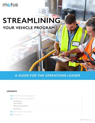 Streamlining Your Vehicle Program: A Guide for the Operations Leader