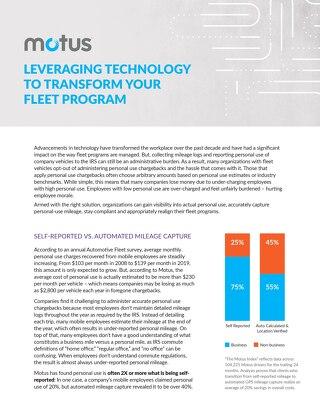 Motus Fleet Solutions