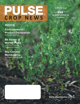 APG, Pulse Crop News, Summer 2018