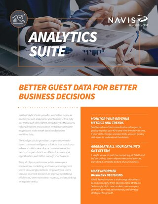 Analytics Data Sheet