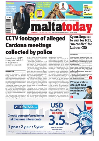 MALTATODAY 17 June 2018