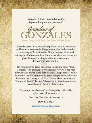 GRANDEUR OF GONZALES (book preview)