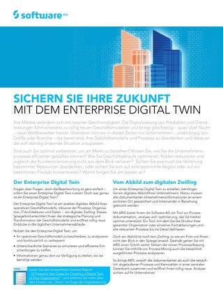 Sichern Sie Ihre Zukunft mit dem Enterprise Digital Twin
