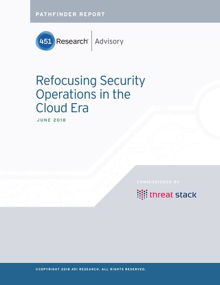 Refocusing Security Operations in the Cloud Era