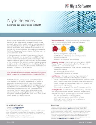 Nlyte_Services_Data_Sheet 6.21.18