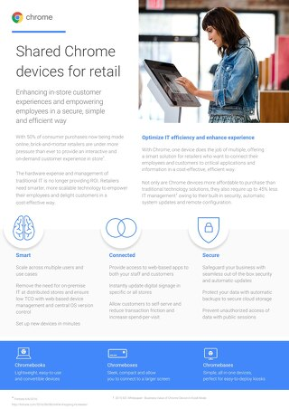 Google Chrome for Retail