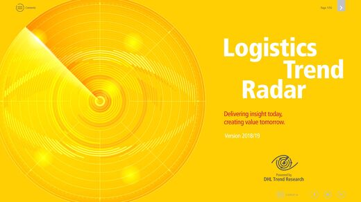 Logistics trend radar. Delivering insights today.