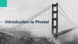 Intro to Pivotal