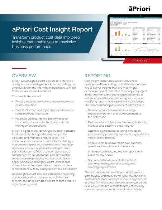 Cost Insight