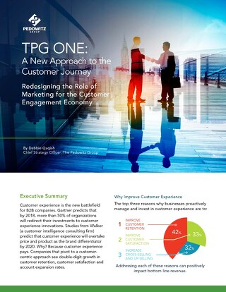 TPG ONE™: A New Approach to the Customer Journey