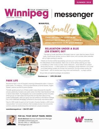 Winnipeg Tour Connection Messenger - Summer 2018