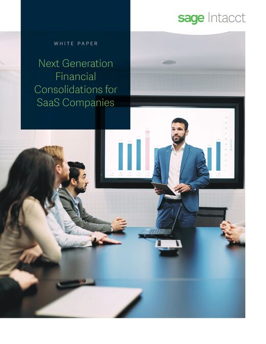 Next Generation Financial Consolidations for SaaS Companies