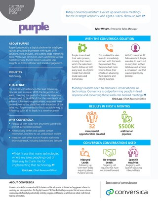 Purple Case Study