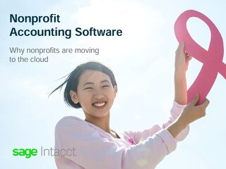 Nonprofit Accounting Software - Why Nonprofits are Moving to the Cloud