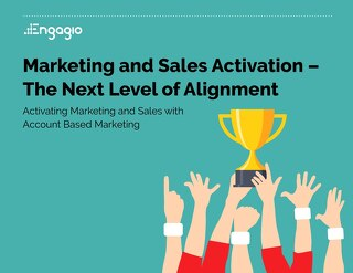 Sales and Marketing Activation  |  Engagio