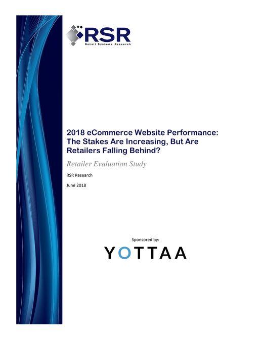 2018 RSR eCommerce Website Performance Report