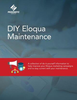 DIY Eloqua Maintenance