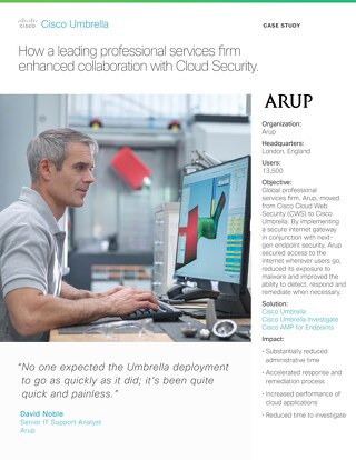 Arup Customer Story