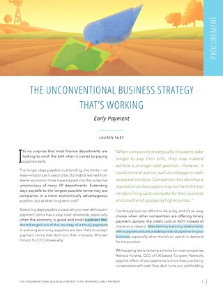The Unconventional Business Strategy That's Working