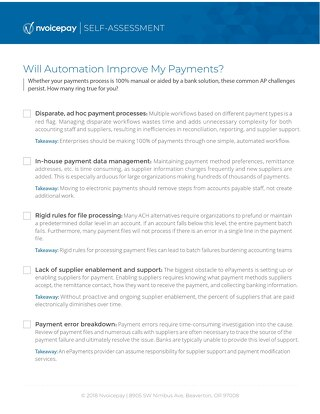 Will Automation Improve My Payments