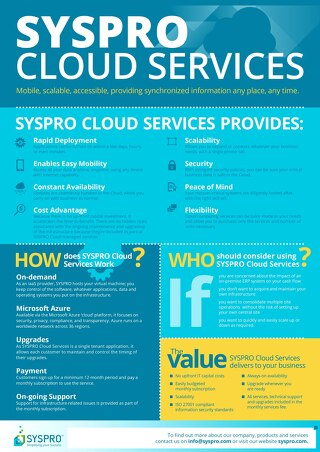 Syspro Cloud Services