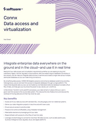 CONNX data access & virtualization