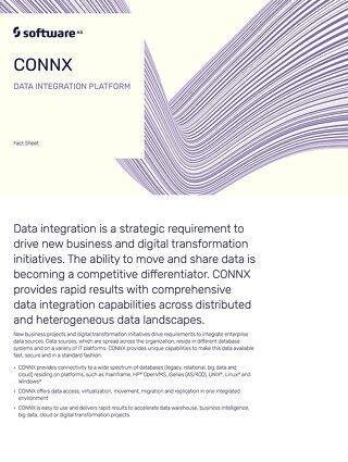 Facts about the CONNX platform