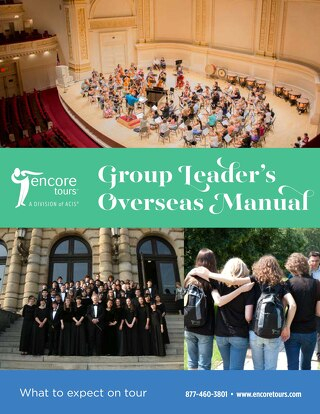 Encore Group Leader Overseas Manual
