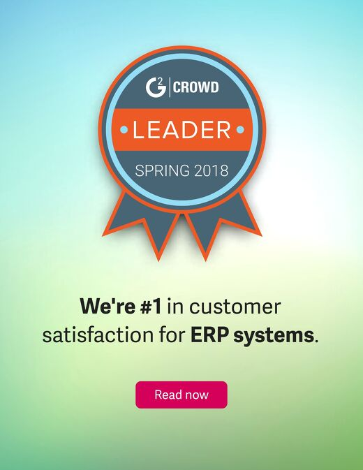 G2 Crowd Grid for ERP Systems | Spring 2018