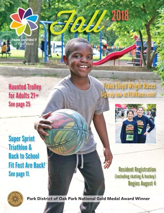 Park District of Oak Park Fall Program Guide 2018