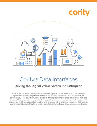 Product Sheet - Cority Data Interfaces