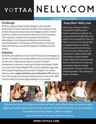 Case Study: Nelly.com