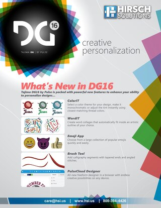 DG16 - What's New?