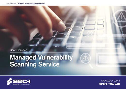 Managed Vulnerability Scanning Service