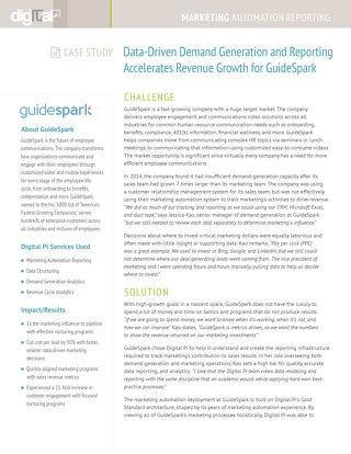Guidespark Case Study