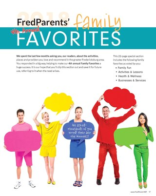 2018 FredParent Family Favorites