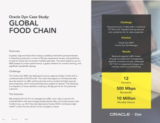 Case Study: Global Food Chain