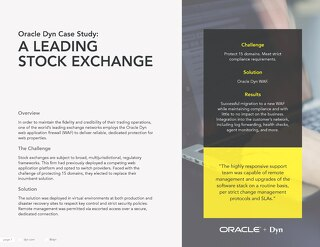 Case Study: A Leading Stock Exchange