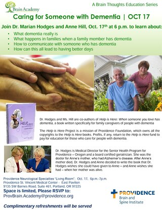 Brain Thoughts with Dr. Marian Hodges and Anne Hill
