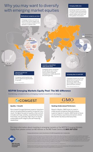 Why you may want to diversify with emerging market equities