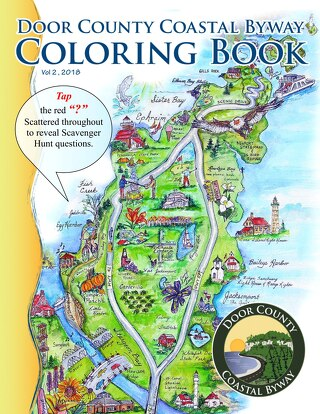 DC Coastal Byways Coloring Book