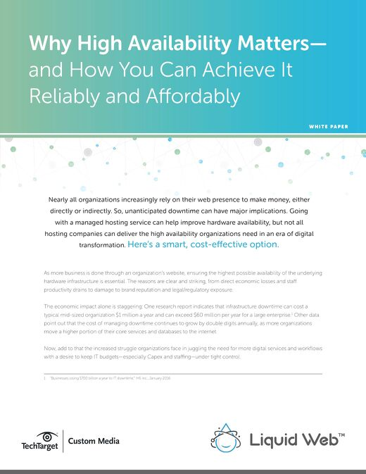 Why High Availability Matters