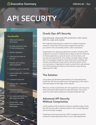 API Security Executive Summary