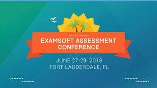 Degree Program Graduate Outcome Attainment Assessment Process via ExamSoft - Aimee Badeaux - EAC 2018